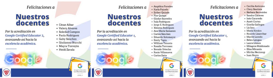 Docentes: Google Certified Educator